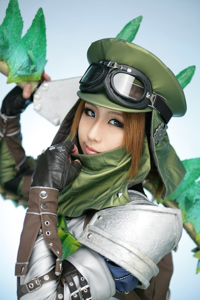 This Cosplay Has a Monster-Sized Secret Weapon
