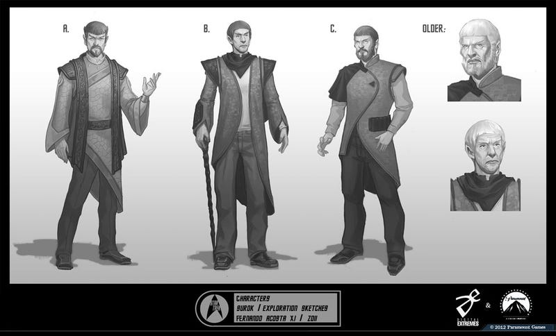 Star Trek Video Game Concept Art Still Finds Room For Smarmy Kirk