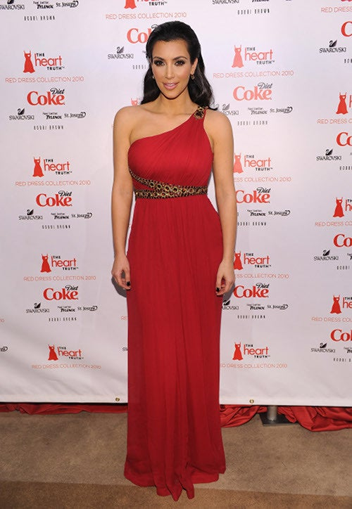 Ladies In Red At Heart Truth Celebrity Fashion Show