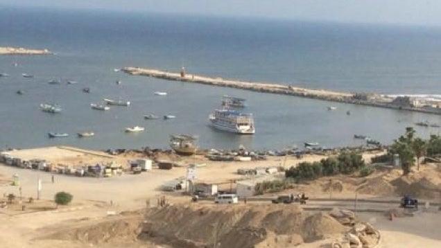 Ilyen a reggel Gázában, ahol két órája tűzszünet van