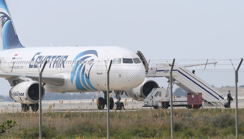 Suspect in hijacking of EgyptAir plane arrested