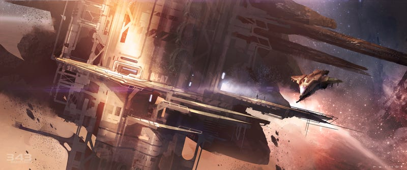 The Art (and Guns) of Halo 4