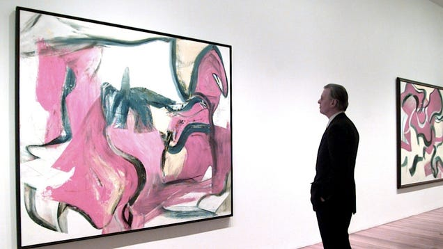 Quick Abstract Art Viewing Makes Abstract Art
