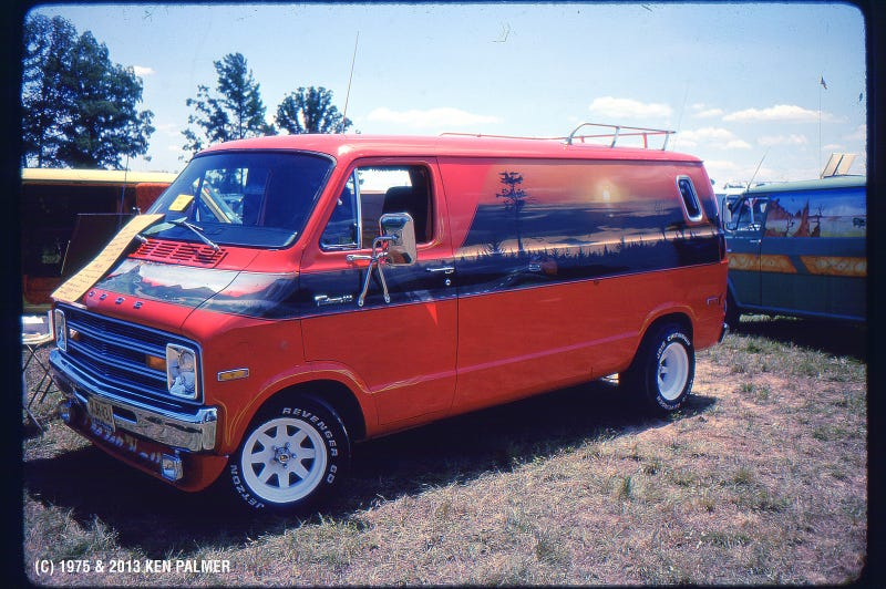 What America's Tax Income Has To Do With Seventies Custom Vans