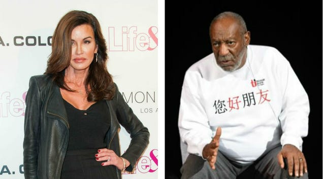 Janice Dickinson Says Bill Cosby Sexually Assaulted Her