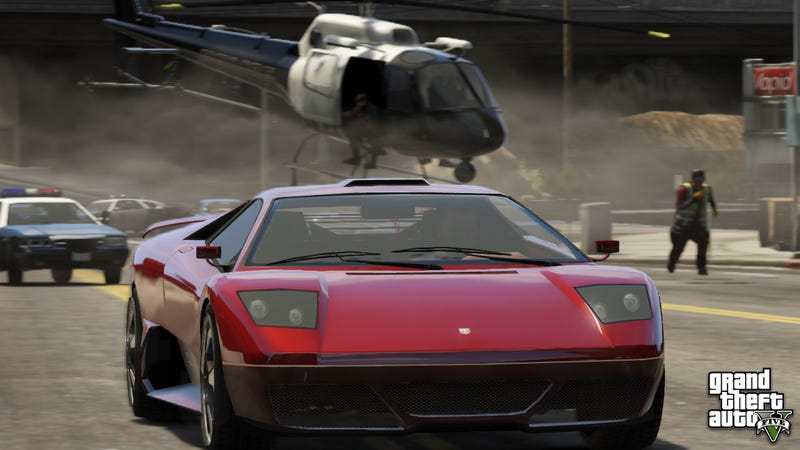 Here's Another Hot New Batch Of Grand Theft Auto V Screenshots