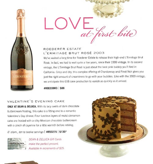 Love Don't Cost A Thing: Valentine's Day At Dean & Deluca