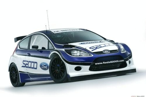 Ford Fiesta S2000 Rally Car Gallery