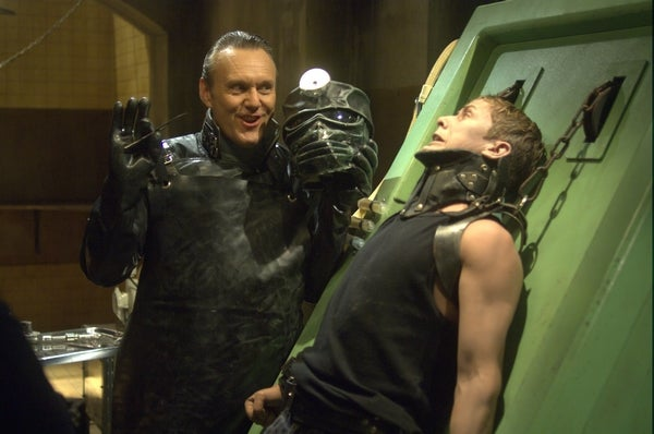 Giles Gets Stab-Happy With A Scapel In New Repo Stills
