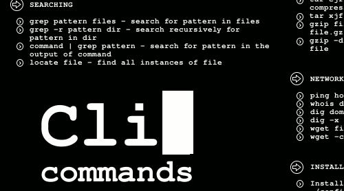 Cli Commands Wallpaper Boosts Your Terminal Talent