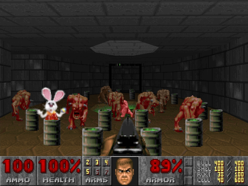 Kotaku 'Shop Contest: The Easter Bunny Goes To Hell: The Winners!