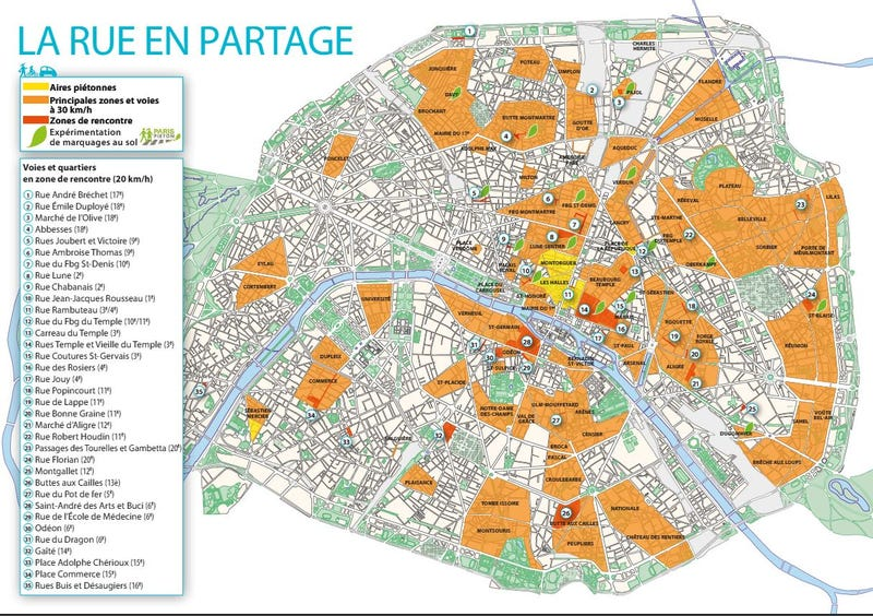 What Will Happen When All Paris Traffic Slows To 19 Miles Per Hour?