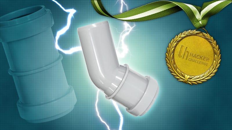 MacGyver Challenge: Hack Something Using PVC Pipe