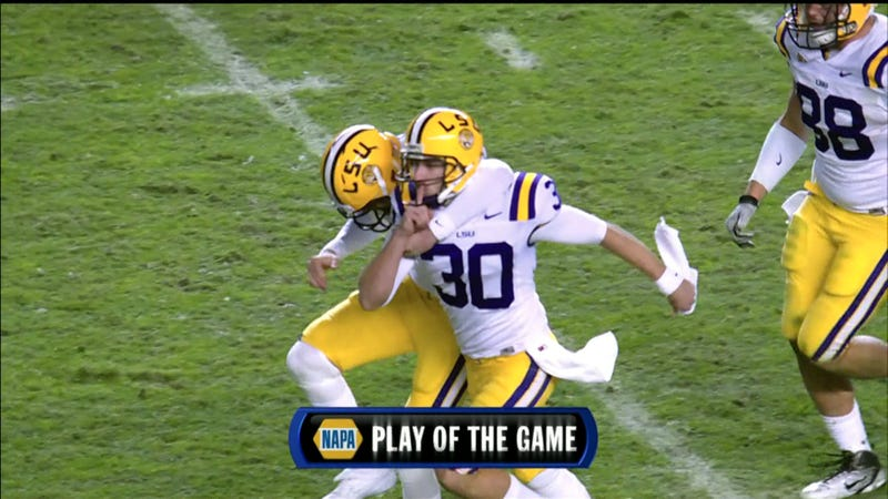 LSU-Alabama: A Story Told By Faces