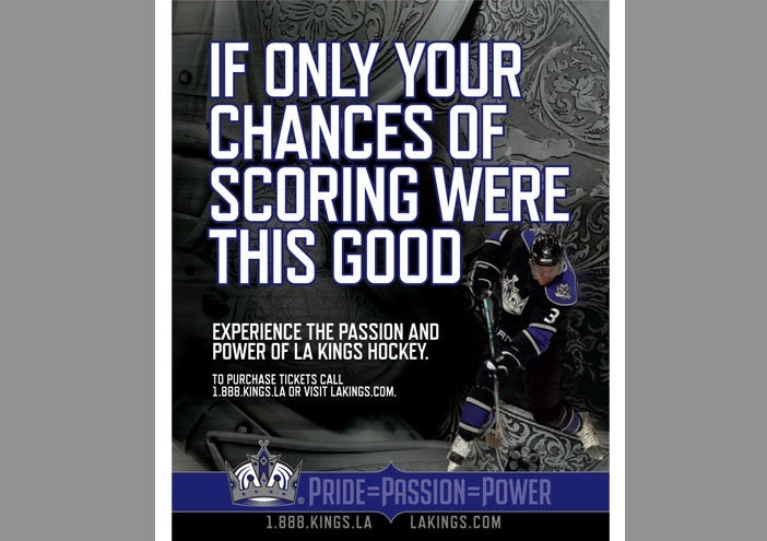 This L.A. Kings Ad Is Unintentionally Funnier Than It Was Meant To Be