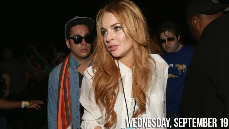 Lindsay Lohan Arrested After Hit and Run in Porsche, You Know, the Usual