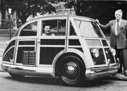 The FabulousTiny Cars of Captain Martin