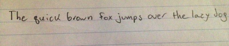 Neat HandwriTAYng