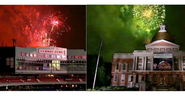 CBS Faked Boston's 4th of July Fireworks Show