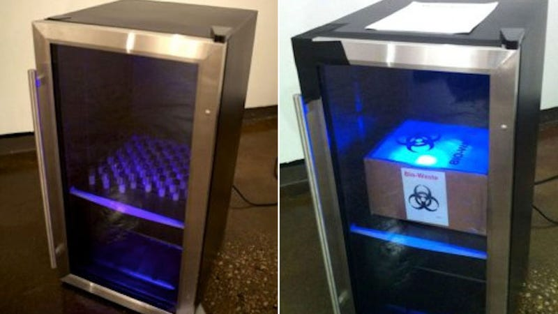 Manhattan Art School Confiscates Refrigerator Full of Semen From Student