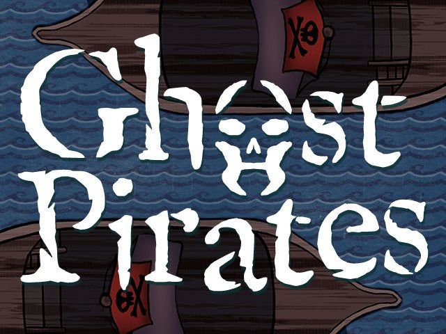Help fund Ghost Pirates, a board game that lets you plunder with the undead