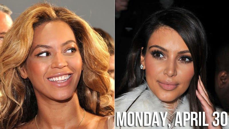 Beyoncé Thinks Trampy Ol' Kim Isn't Good Enough For Kanye