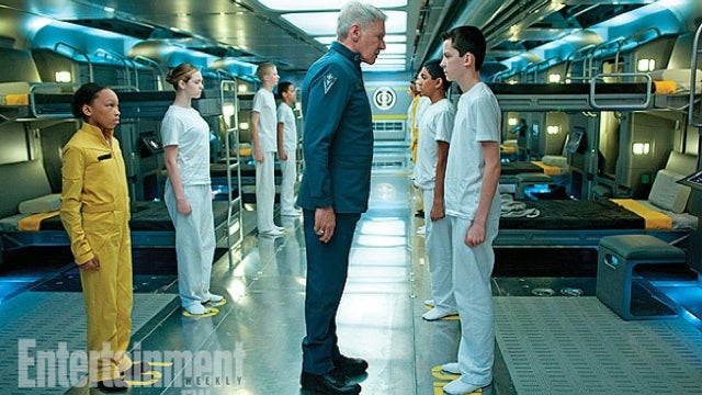 First Look at Harrison Ford's Wrathful Colonel Graff in Ender's Game