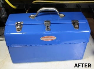 Restore An Old Tool Box For Heavy Duty Tool Storage On The
