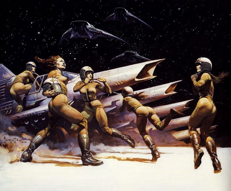 The Savage Barbarians Of Battlestar Galactica