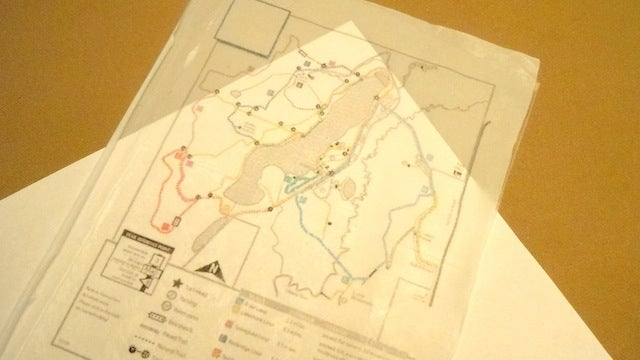 Print Your Own Waterproof Maps on Trash Bags