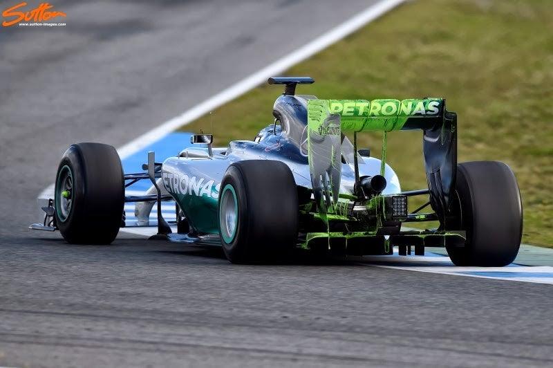 Technically Formula 1 - Jerez Testing Day 2