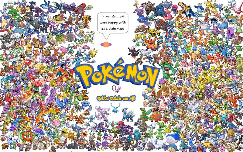 ​Returning to Pokémon: Why is everybody in a rush?
