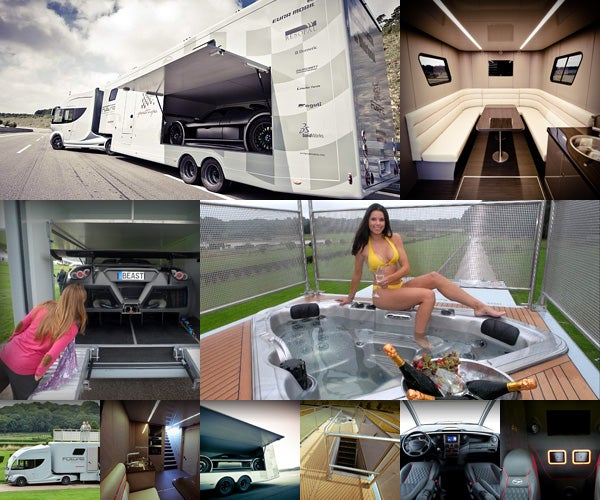 You Won't Find This Motorhome in Any Trailer Park