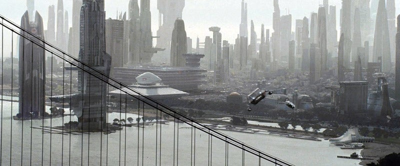 The Same Cityscape According To Star Trek And Terminator Salvation