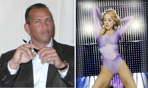 Celeb Rag Says A-Rod And Madonna Are Possibly, You Know, Doing It