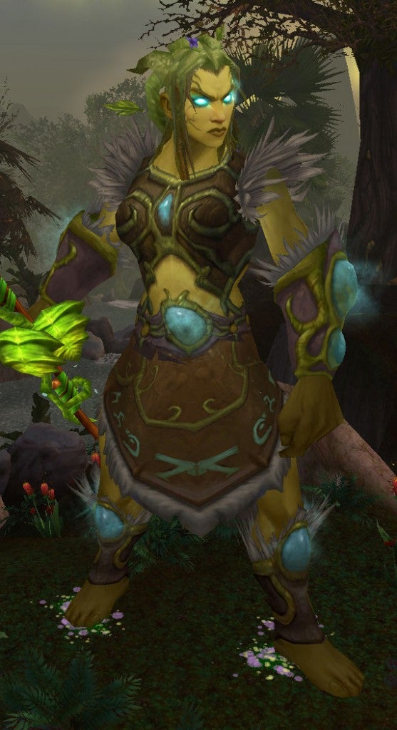 Problematically In The Voice Of A Night Elf Woman