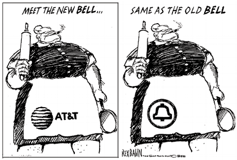 """Revived, Ominpresent AT&T to Customers: """"I Am a Benevolent Master"""""""