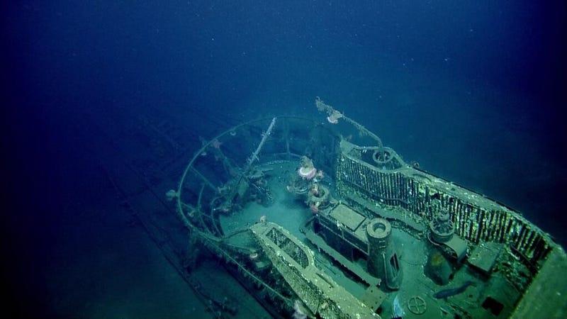 Spooky underwater photos reveal Nazi submarine off the coast of Texas