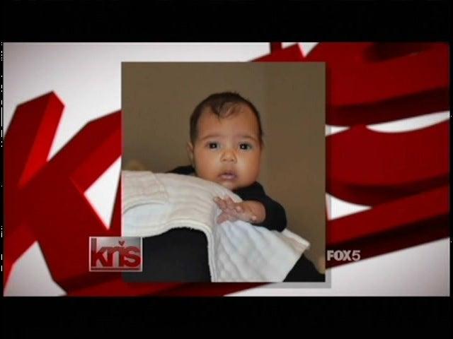 Okay, Fine: Kim and Kanye's Baby Is Pretty Damn Cute.