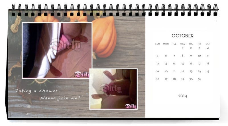 Don't Let All Those Dick Pics Go To Waste -- Make a Calendar!