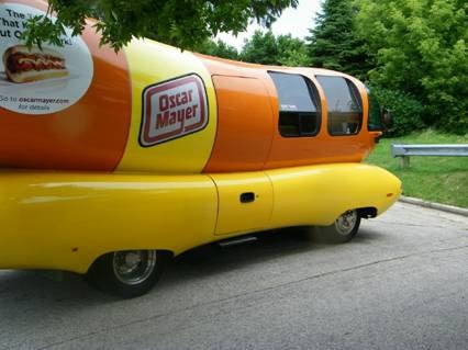 Wienermobile Crashes Bun-First Into Wisconsin House