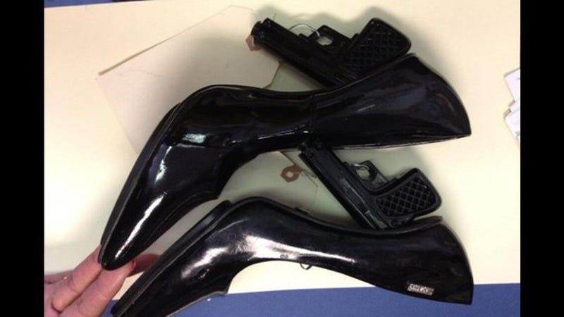 Idiot Tries to Wear Handgun-Shaped Heels Through Airport Security