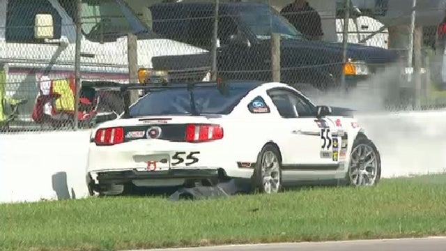 Mustang Boss 302S with VIN 001 crashes on the track