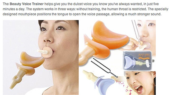 9 Bizarre Japanese Beauty Gadgets To Build A Better You
