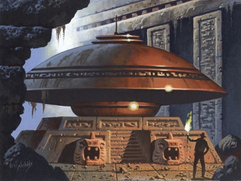 Raiders of the Lost Saucer!
