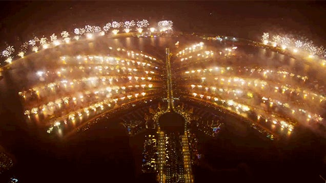 Video: The biggest fireworks in history were truly insane indeed
