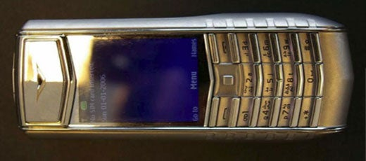 Vertu Sort of Announces 3G Ascent Ti Phone