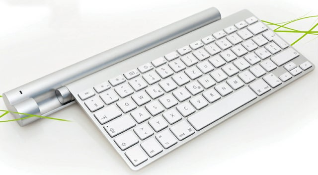 Charge Apple Keyboards and Trackpads Wirelessly With the Mobee Charger