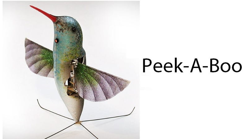 The Next Hummingbird You See Could Be a Spy