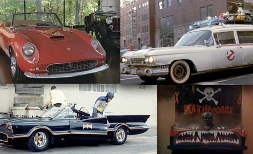 The 50 Most Memorable Movie Cars, According To Rotten Tomatoes